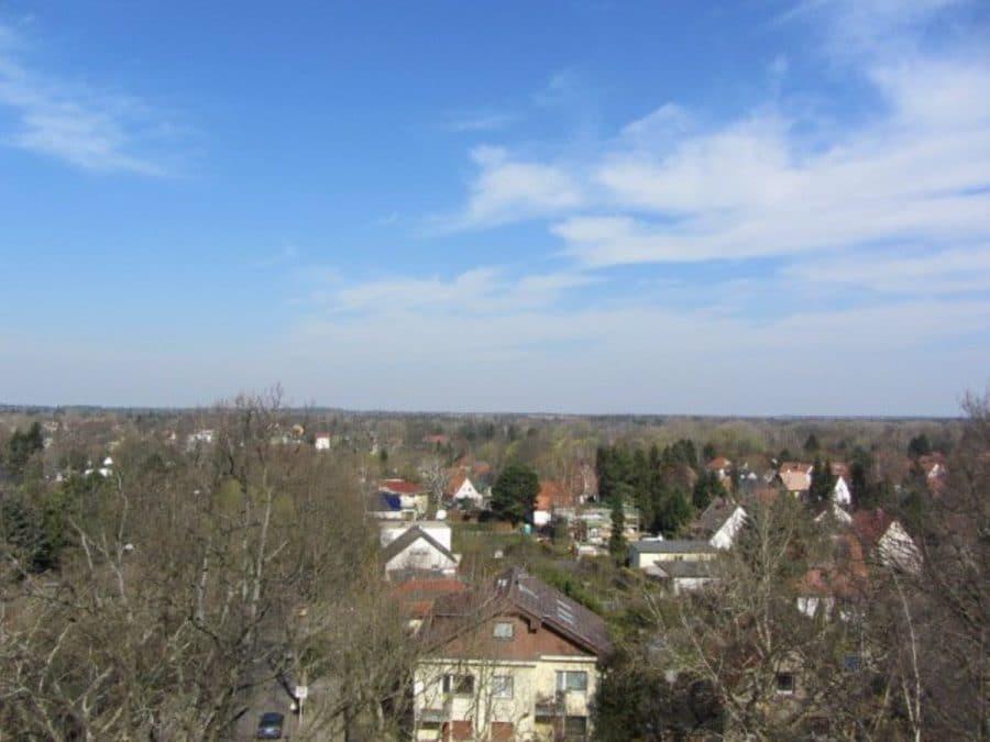 Wie neu - komplett instandgesetzte 4-Zimmer-Wohnung im grünen Berlin-Waidmannslust! - Blick vom Balkon