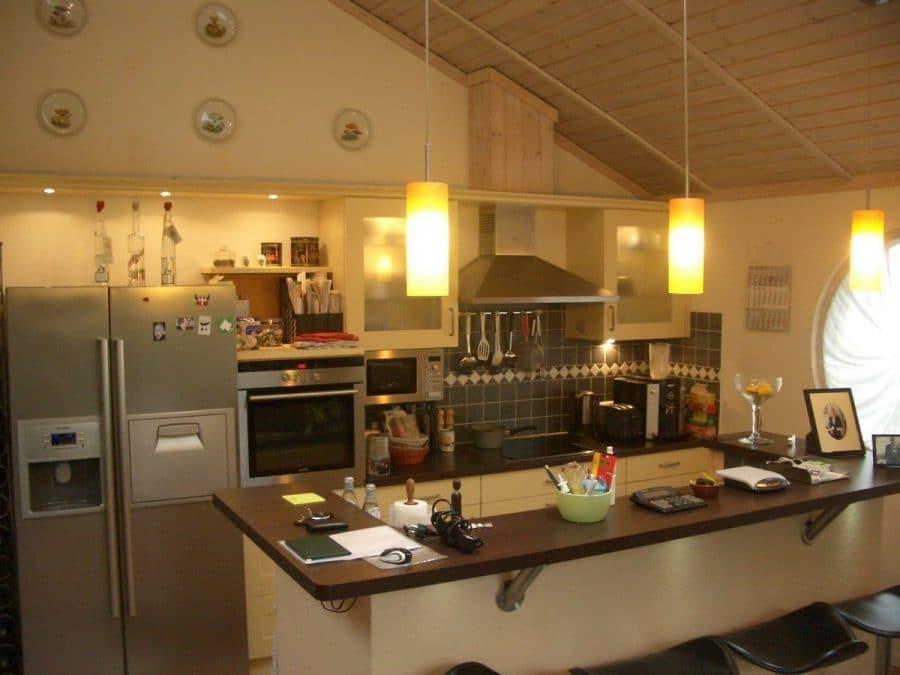 Niedrigenergiehaus in sehr gepflegtem Zustand in grüner Ruhiglage von Falkensee zu verkaufen! - Küche