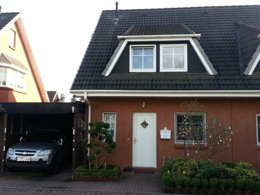 Langfristig vermietete Doppelhaushälfte als Kapitalanlage in Brieselang! - Hausansicht