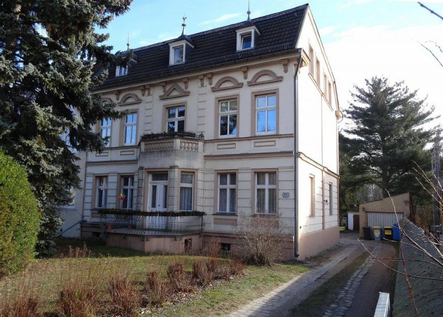 Grundstück mit Bestandsimmobilie und Bebauungspotenzial in Berlin-Buch - Straßenansicht