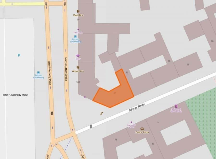 Sanierte Ladenflächen in sehr gut frequentierter Lage von Berlin-Schöneberg! - Lage