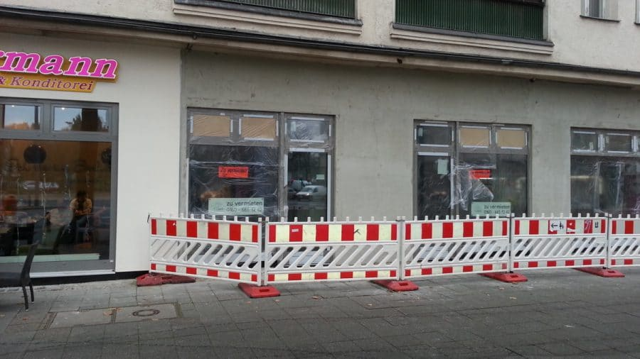 Sanierte Ladenflächen in sehr gut frequentierter Lage von Berlin-Schöneberg! - Ladenansicht